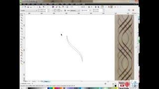 getlinkyoutube.com-Гравировка по средней линии CorelDRAW + ArtCam