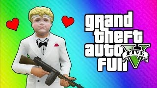 getlinkyoutube.com-GTA 5 Online Funny Moments - Valentine's Day Massacre DLC, Kisses, Cupid Mask, Roosevelt Vehicle!