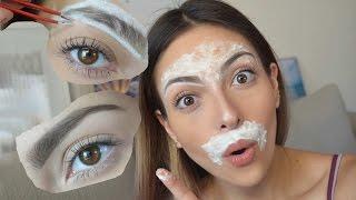 getlinkyoutube.com-Como depilar la ceja y el bigote en casa | Anna Sarelly