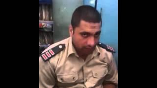 شاهد فبل الحذف امين شرطة مصري يقرأ القرآن اجمل صوت هتسمعه فى حياتك !! Egyption Police