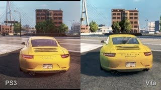 getlinkyoutube.com-Need for Speed: Most Wanted - PS3 vs. PlayStation Vita Comparison Video