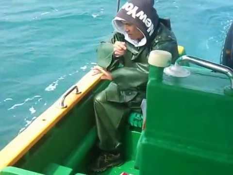 2013年4月13日 強哥釣人生第一條青斑