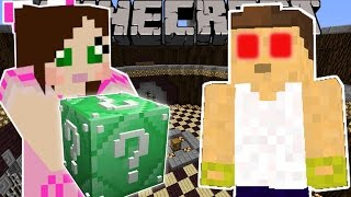 getlinkyoutube.com-Minecraft: EMERALD LUCKY BLOCK 100 WAYS TO DIE - Lucky Block Mod - Modded Mini-Game