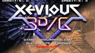 Xevious 3D/G 1995 Namco Mame Retro Arcade Games