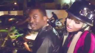 """getlinkyoutube.com-Meek Mill Bike Life In Queens With Nicki Minaj (""""I Be On That"""" Behind The Scenes)"""