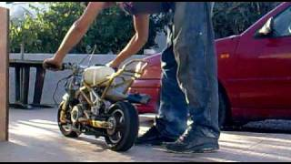 getlinkyoutube.com-minimoto motor derbi senda
