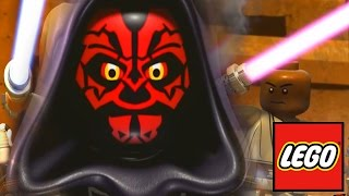 getlinkyoutube.com-LEGO Star Wars: Droid Tales All Lightsaber Battles Sith vs Jedi
