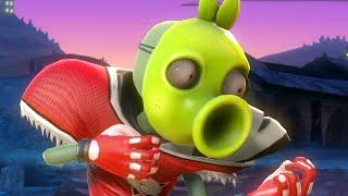 "getlinkyoutube.com-Plants vs. Zombies: Garden Warfare - ""All-Pea"" Halloween Rock!  (47 kills)"