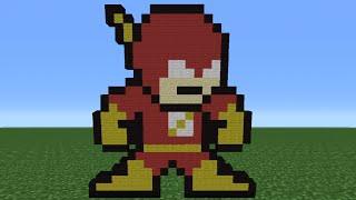 getlinkyoutube.com-Minecraft Tutorial: How To Make The Flash (8-Bit)