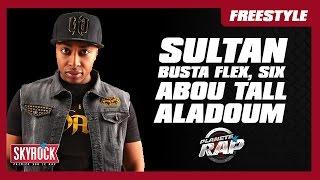 Freestyle de Sultan, Busta Flex, Abou Tall, SIX & Aladoum dans Planète Rap