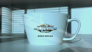 American Truck Simulator - Update 1.5: World Rescale