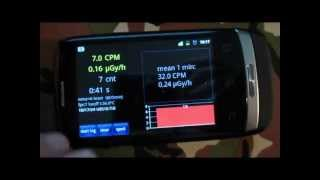 "getlinkyoutube.com-REVIEW: ""radioactivity counter"" - geiger counter app for smartphone"