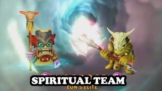 Skylanders Imaginators - Royal Double Trouble & Elite Voodood GAMEPLAY - SPIRITUAL TEAM