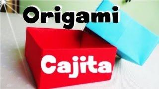 getlinkyoutube.com-Cajita de papel - Origami