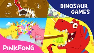 getlinkyoutube.com-Dinosaur Game SPECIAL | Tyrannosaurus-Rex Game and More | +Compilation | PINKFONG Songs for Children