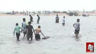 getlinkyoutube.com-Chennai Marina Beach flooded in Rain | Chennai rain