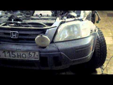 Хонда CR-V ремонт центрального замка шлейф двери