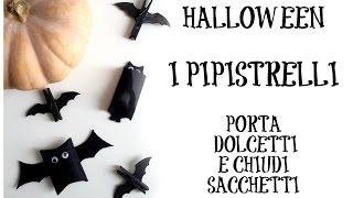 getlinkyoutube.com-Pipistrelli Porta Dolcetti e Chiudi Sacchetti e SORTEGGI GIVEAWAY (Halloween) Arte per Te