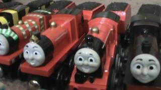 getlinkyoutube.com-my whole wooden railway collection