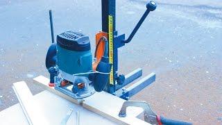 getlinkyoutube.com-Самодельный фрезерный станок по дереву своими руками.Часть 1 Homemade milling machine for wood.
