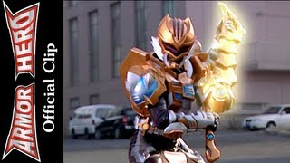 getlinkyoutube.com-Armor Heroes Fight with the Butterfly Monster - Armor Hero Official English Clip  [HD 公式] -39