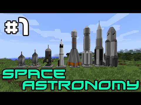 Minecraft Space Astronomy - Great Plans! #1