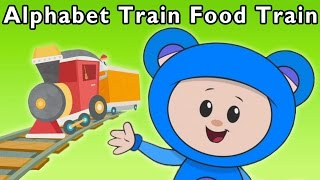 getlinkyoutube.com-Ride the ABC Train | Alphabet Train Food Train and More | Baby Songs from Mother Goose Club!