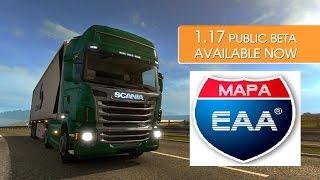 getlinkyoutube.com-Euro Truck 2 Versão 1.17 Mapa EAA #1 Game Play