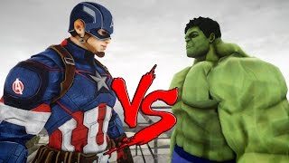 getlinkyoutube.com-THE INCREDIBLE HULK VS CAPTAIN AMERICA - EPIC BATTLE
