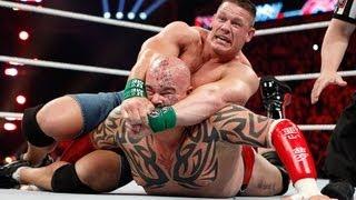 getlinkyoutube.com-John Cena vs. Lord Tensai - Extreme Rules Match: Raw, April 16, 2012