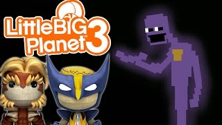 DEATH BY PURPLE GUY! | Little Big Planet 3 Multiplayer (47)