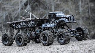 getlinkyoutube.com-Exceed RC 1/8 Scale 8x8 MadTorque Crawler Truck Overview