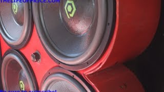getlinkyoutube.com-DAY DAYS DUMB LOUD IMPALA! 60KW ON 4 18S @ HOW-U-RIDIN 2013 - VID 3 - SHREVEPORT, LA