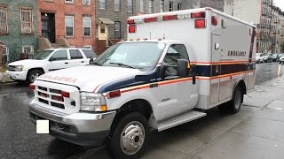 rts:2004 f450 wheeled coach 4x4 ambulance 56k miles:for sale 631-612-8712