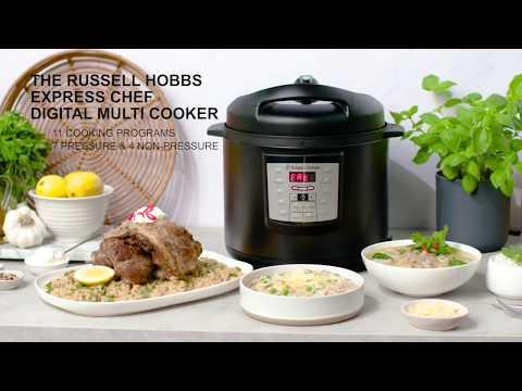 Russell Hobbs Express Chef Digital Multi Cooker - RHPC1000BLK