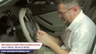 getlinkyoutube.com-How to install a Wheelskins steering wheel cover