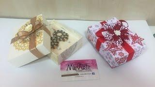 getlinkyoutube.com-DIY tutorial scatola scrap Bijoux con coperchio fatto con Envelope Punch Board