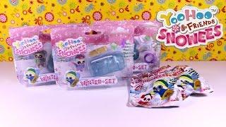 getlinkyoutube.com-Unboxing YooHoo & Friends Snowees Playsets Spielsets + Blind Bags