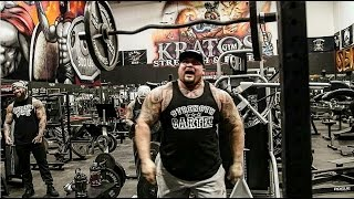 TATTOOED MONSTERS BANGIN OUT ARMS | STRENGTH CARTEL HEAVY HITTERS -BIG BOY