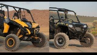 getlinkyoutube.com-2013 Can Am Maverick X RS vs  2013 Polaris RZR XP 900 LE EPS