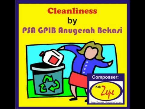 Cleanliness - Children songs / kids songs / song for kids/song for children / lagu anak.wmv