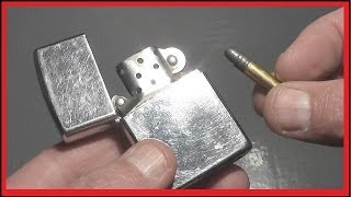 getlinkyoutube.com-Soldier's life saved by a ZIPPO LIGHTER?  Fact or Myth