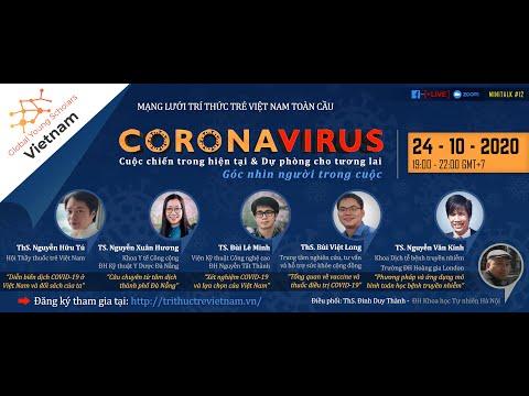 """#12 """"CORONAVIRUS - Cuộc chiến trong hiện tại và dự phòng cho tương lai: Góc nhìn người trong cuộc"""""""