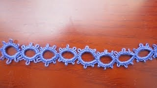 getlinkyoutube.com-Needle Tatting Split Ring (SR)