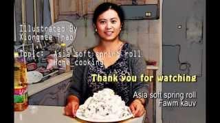 getlinkyoutube.com-Soft Noodle Rolls (Fawm Kauv)