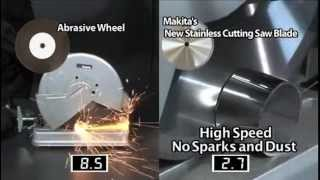 getlinkyoutube.com-Stainless Steel Cutting Blades from Makita