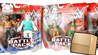 Ringside Collectibles WWE Battle Pack 38 Package Unboxing!!