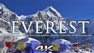 getlinkyoutube.com-JOURNEY TO EVEREST | 4K Himalayas Nature Relaxation™ Experience w/ Instrumental Music