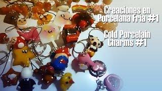 getlinkyoutube.com-Creaciones en Porcelana Fría #1 / Cold Porcelain Charms #1