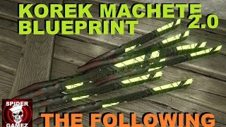 getlinkyoutube.com-Dying Light Korek Machete V2 Blueprint Location After The Following - How To Get Korek V2 Blueprint